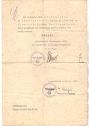 4630 BOCHUM - WATTENSCHEID, Dokument über Namensänderung Von Strzelewski Auf Jäger, 1936 - Documenti Storici
