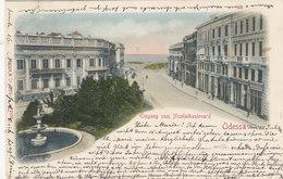 Odessa - Eingang Zum Nicolaiboulevard - 1901     (A-23-110728) - Ukraine