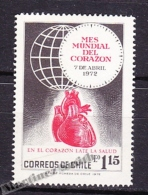Chile - Chili 1972 Yvert 382, World Week Of The Heart - MNH - Chile