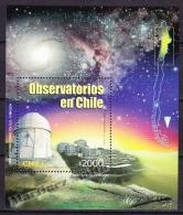 Chile - Chili 2002 Yvert BF 71, Observatories - Miniature Sheet - MNH - Chile