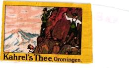 8 Poster Stamp Cinderella Reklame Marke Pub  ALPINISME Mountaineering Skiing Montagne =gebirgte Berg Climbing Klimmen VG - Sports D'hiver