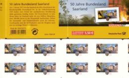 Markenheftchen Bund Postfr. MH 67 Saarland MNH ** - [7] Federal Republic
