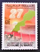 27 ANS DE LA MARCHE VERTE 2001 - YT 1311 - MI 1411 - Marokko (1956-...)
