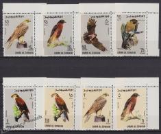 South Arabia - Arabie Saoudite - Umm Al Qiwain 1968, Michel 225- 32, Birds, Fauna - MNH - Umm Al-Qiwain