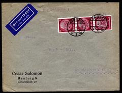 A4543) DR Luftpostbrief Von Hamburg 5.7.34 Nach Finnland Mit MeF Mi.520(3) - Briefe U. Dokumente