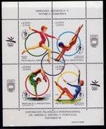 "Argentina - ""Espamer '91"" - 1991 - Exposition Philatélique. - Yvert BF 51 - Gimnasia"