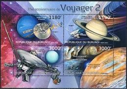 Bloc Sheet Espace Space Neuf ** MNH Burundi 2012