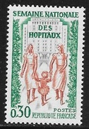 N° 1339   FRANCE  -  NEUF -  SEMAINE NATIONALE DES HOPITAUX   -  1962 - Francia