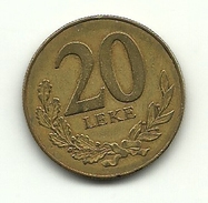 2000 - Albania 20 Leke^ - Albania