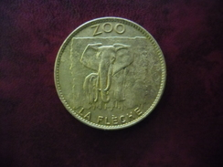 FRANCE @ ELEPHANT ZOO De La FLECHE (72) Arthus Bertrand Médaille Touristique - Arthus Bertrand