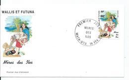 FDC  Méres Des Iles  Mata-utu 1996 - Covers & Documents