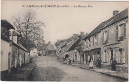 NEAUPHLE LE CHATEAU VILLIERS SAINT FREDERIC LA GRANDE RUE TBE - Neauphle Le Chateau