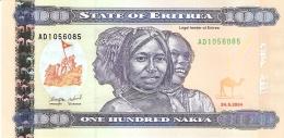 ERYTHREE   100 Nakfa   24/5/2004   P. 8   UNC - Eritrea