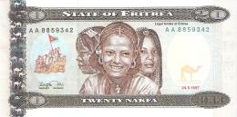ERYTHREE   20 Nakfa   24/5/1997   P. 4   UNC - Eritrea