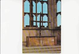 Postcard - Coventry Cathedral The Charred Cross - Very Good - Cartes Postales