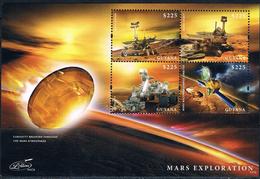 Bloc Sheet Espace Space Neuf ** MNH Guyana 2013