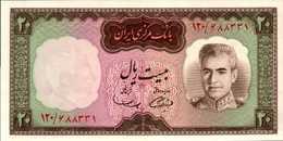 IRAN 20 RIAL De 1969nd Pick 84  UNC/NEUF - Irán