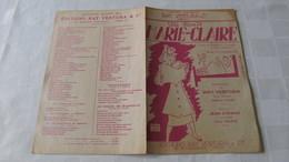 """PARTITION - """" ELLE LISAIT MARIE-CLAIRE """" - RAY VENTURA Et Cie - MAURICE VANDAIR & PAUL MISRAKI - MUSIQUE De CHARLYS - Music & Instruments"""