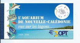Carnet C 1019 Aquarium De Nouméa 2007 - Nouvelle-Calédonie