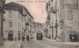 LA SPEZIA / CHIAPPA / VIA PRINCIPALE / TRAM / TRAMWAY - La Spezia