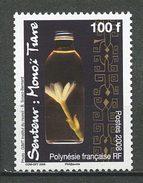 POLYNESIE 2008 N° 843 ** Neuf  MNHSuperbe. Monoï Tiaré  Fleur  Flore  Flower  Flora - French Polynesia