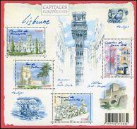 """Bloc-feuillet F4402 - Bloc-feuillet """"Capitales Européennes - Lisbonne"""" 2009 - Blocs & Feuillets"""