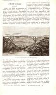 LE VIADUC DU PONT DE VIAUR ( TARN )  1889 - Languedoc-Roussillon