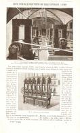 L'USINE MUNICIPALE D'ELECTRICITE Des HALLES CENTRALES à   PARIS   1889 - Paris