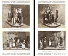 ANCIENS COSTUMES POPULAIRES FRANCAIS ( Normandie-auvergne-pyrenées-bretagne ) 1889 - Unclassified