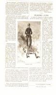 LE  VELOCIPEDE à PATINS  1884 - Unclassified
