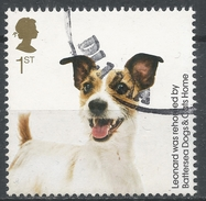 Great Britain 2010. Scott #2765 (U) Battersea Dogs And Cats Home, 150th Anniv. Leonard (dog) * - 1952-.... (Elizabeth II)