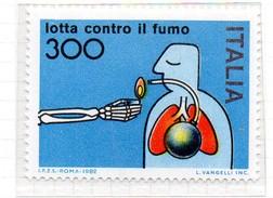 PIA  -  ITALIA  -  1982  : Lotta Contro Il Fumo -  (SAS   1587 ) - Umweltverschmutzung