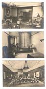 CPSM 75 PARIS UNIVERSITE Foyer Des Etudiantes Fondation Grace Whitney Hoff 93 Bd Saint Michel Lot De 3 Cartes - Enseignement, Ecoles Et Universités