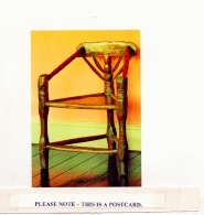 Postcard - Triangular Chair 17th Centry - Rufford Old Hall - Very Good - Non Classificati