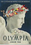 4833 Hungary Postcard Art Sculpture Antique Sport Athletics Winner - Sculture