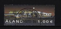 ALAND Mi-Nr. 202 Fertigstellung Des Neuen Postterminals Gestempelt - Ålandinseln
