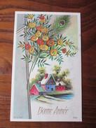 Carte Postale -  BONNE  ANNEE  -  écrite En 1976 - Anno Nuovo