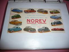 BUVARD Publicitaire  BLOTTING PAPER Miniature NOREV Voiture - Blotters