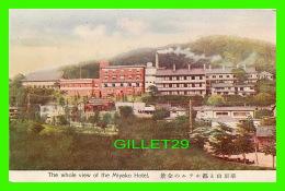MIYAKO, JAPON - THE WHOLE VIEW OF THE MIYAKO HOTEL - SHOHOSHA - - Tokyo