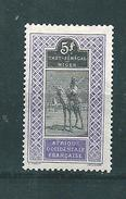 Colonie Timbres De Haut Sénégal Et Niger  De 1914/17  N°34  Neufs * - Haut-Sénégal Et Niger (1904-1921)