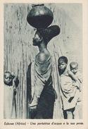 """PONTIFICIE OPERE MISSIONARIE-ESHOWE( AFRICA) - """"UNA PORTATRICE D'ACQUA E LA SUA PROLE"""" - Missioni"""