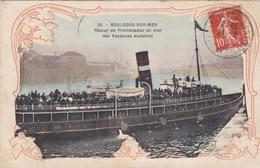 CPA (30)  BOULOGNE SUR MER Retour De Promendes En Mer Des Vacances Scolaires - Boulogne Sur Mer