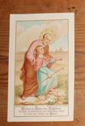 Image Pieuse.Jésus Et Saint Joseph. - Devotieprenten