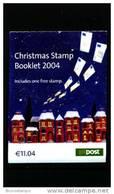 IRELAND/EIRE - 2004  CHRISTMAS  BOOKLET   FINE  USED  FDI CANCEL - Libretti