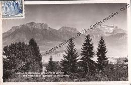 CPSM  [74] Haute Savoie > Lac D'Annecy - Les Dents De Lanfon Et Le Massif De La Tournette Vus Du Sevrier - Altri Comuni