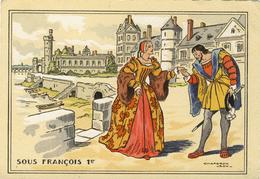 CPA  (illustrateur  )     SOUS FRANCOIS 1ER    (chaperon Jean) (b Bureau) - Chaperon, Jean
