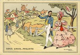 CPA  (illustrateur  )     SOUS  LOUIS XV    (chaperon Jean) (b Bureau) - Chaperon, Jean