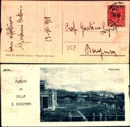 5839a)cartolina -   Auguri Da Villa San Giovanni Ediz.michele Greco-panorama - Other Cities