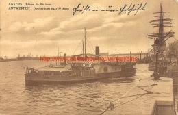 1915 Overzetboot Antwerpen  - Veldpost!! - Antwerpen