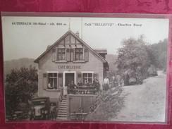 ALTENBACH . CAFE BELLEVUE . CHARLES BAER - Sonstige Gemeinden